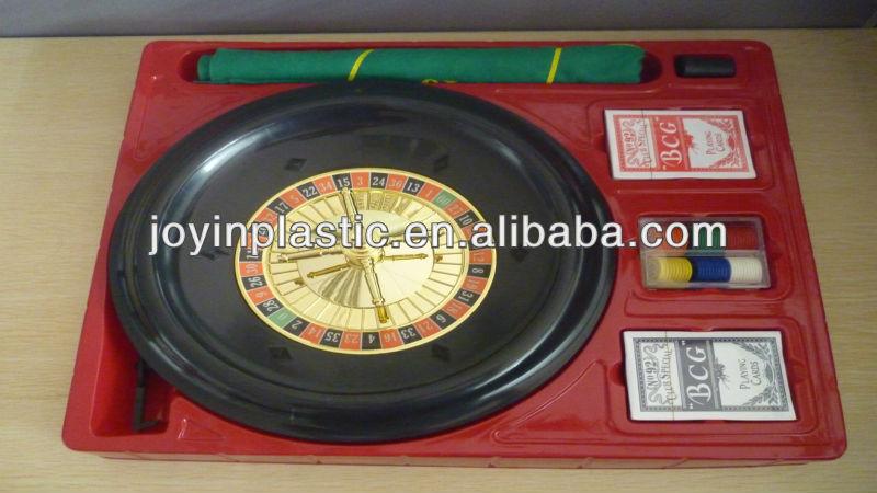 12 inch Casino roulette set roulette game set/plastic roulette/ABS roulette/ casino roulette