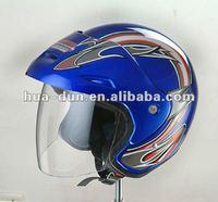 Huadun good quality open face motorcycle helmet, new ABS motor bike helmet, HD-50H
