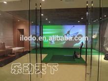 Gopar professional and perfect design 3D indoor golf driving range equipments
