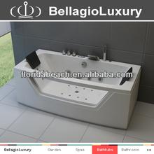2014 NEW Air and Whirlpool massage bathtub ,LED Jet Whirlpool bath