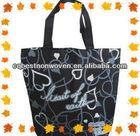 Cute fashional cheap wholesale non-woven tote gift bags handle 2014