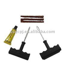 T-handle car tire repair tool kit