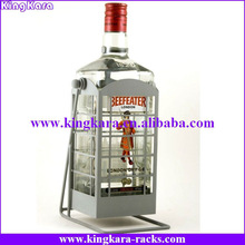 KingKara KAWR047 Metal Rocky Single Bottle Rack