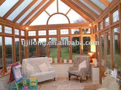 Aluminum winter garden outdoor glass sun room