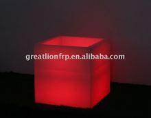 square LED planter,