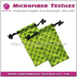 microfiber designer sunglasses bag,polyester bag