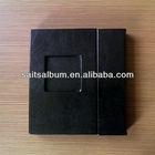 High quality PU cover CD holder case/ DVD case