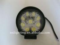 27W 12V&24V LED WORK LIGHT 4WD 4x4 Spot/Flood Car
