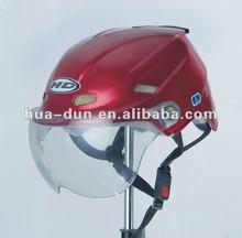 HUADUN Half Face Motorcycle Helmet bright red motor helmet cheap helmet HD-330