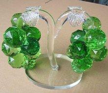 verde de cristal uva cluster para decoração