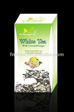 100% fresh fruit tea / lemon ginger white tea