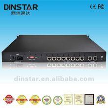 NGN Dinstar 1/2/4/8E1/T1 trunk gateway ss7 media gateway