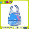 hot sell cheap promotional custom print waterproof PEVA baby bibs