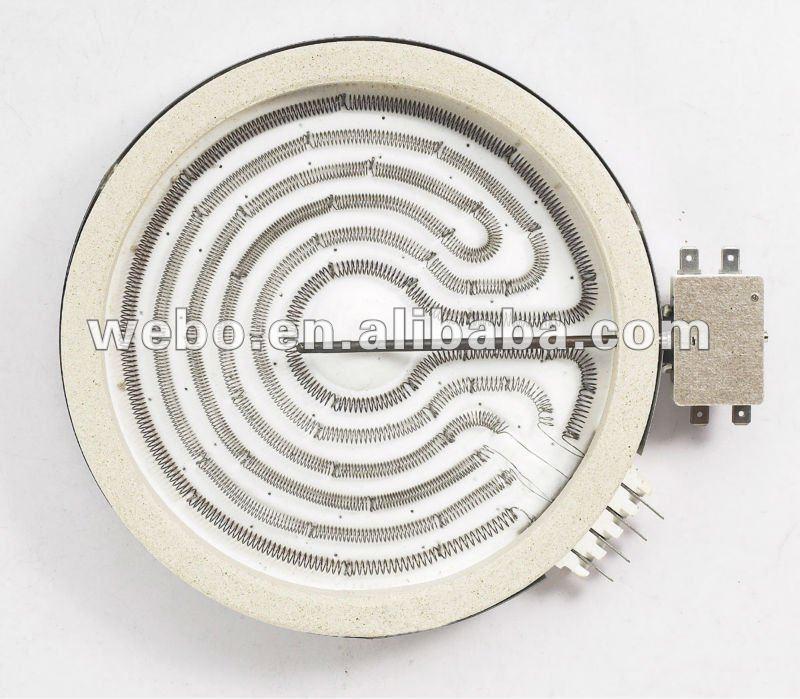 200mm 1800W 220V Electric Ceramic Hot Plate HL-F200C