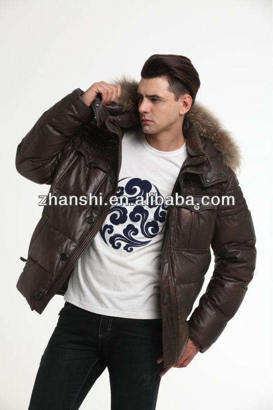 2014 Man's Down Filled Winter Coat