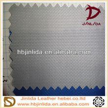 blue color artificial leather pvc leather for shoulder bags