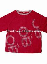 Screen Printing baby cotton t-shirt