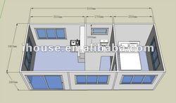prefab floor plan sample