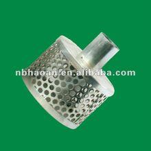 Galvanized Steel Foot Valve Water Strainer