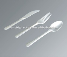 Zhejiang Lonsid Heavy weight plastic kitchenware, table spoons, forks and knives