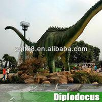 2014 outdoor playground animatronic dinosaur for fun