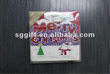 2012 New glitter greeting card