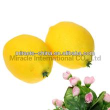 Artificial fruit lemon for home decoration