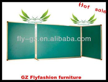 Modern style school magnetic green board/sliding greenboard/cheap greenboard for sale SF-82