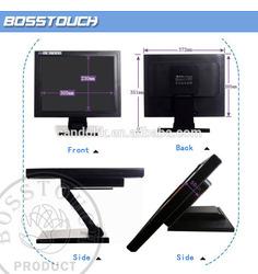 "Newest !!! 15""inch lcd monitor computer monitor vga rca with hdmi lcd panel monitor"