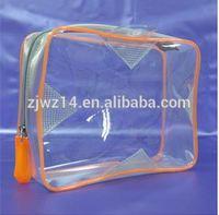 cheap fashion custom pvc bag for underwear pvc bra bag