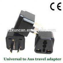 AU/US/UK/South Africa plug travel adapter plug korea for Worldwide use