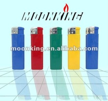 solid color cricket model lighter refillable electronic lighter advertising products