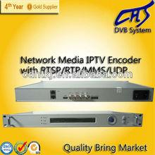 Multi-protocol TS over rtsp/udp/mms/rtp h.264 encoder