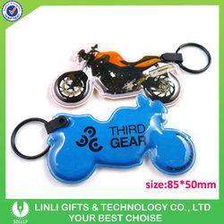 Promotional Gift Motorcycle PVC Keyring