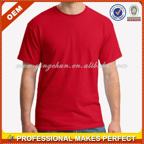 Hot wholesale blank t shirt