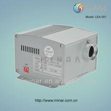 LED fiber optic illuminator, 5W, 6 colors, with remote (LEA-501)