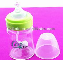 new glass baby milk bottle