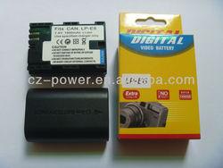 Replacement camera battery LP-E6 for Canon 5D Mark II III 60D 60Da 7D