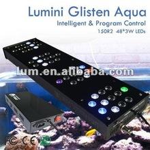 super bright acrylic 100gallon 150W ocean coral led aquarium light