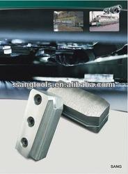 high quality Diamond Grinding Block/Fickert metall/resin bond