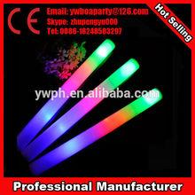 2013 cheap led foam stick new colorful led foam stick with custom logo