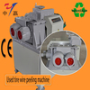 Renewable scrap tire recycling machine