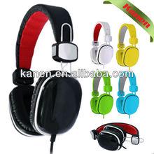 2013 China factory best designed fashionable and foldable studio headphones