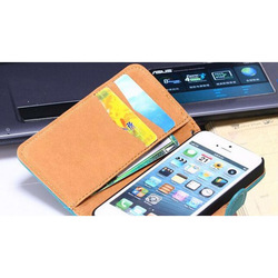 hot selling squirrel grain dermis+PC Wallet Case For IPhone 5, For IPhone 5 Case, Case for iPhone 5