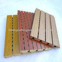 Traditional interior wall wood paneling