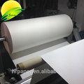 64''/63''/44'' 100 gsm de sublimación papel de transferencia para la alta velocidad de impresión, de secado rápido y anti- curl
