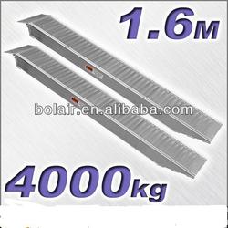 Aluminium Heavy Loading Ramp - 160cm in Length, 2000kg Max Ca