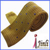 Factory price wholesale neck ties with embroidered dots