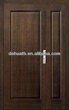 Fire & Secturity Wooden Panel Door,double entrance doors,Mother and son Wooden Entrance Door
