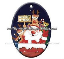 2015 New Wholesale holiday living Custom personalized blank christmas ornaments